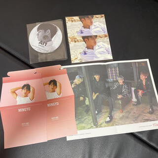 セブンティーン(SEVENTEEN)のSEVENTEEN ミンギュ CD A|1 teen age ヒポチ ポスター(アイドルグッズ)