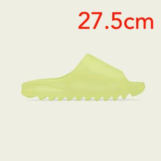 アディダス(adidas)のadidas YEEZY SLIDE GLOW GREEN 27.5cm(サンダル)