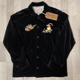 TENDERLOIN - 人気品! TENDERLOIN スーベニアジャケット ベロア ブラック 黒 XS