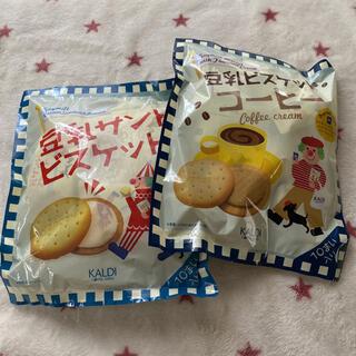 KALDI - カルディ 豆乳サンドビスケットコーヒー&オリジナル