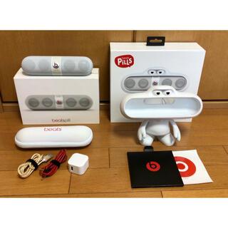 Beats by Dr Dre - beats pill 2.0 Bluetoothスピーカー(WH)スタンド付き