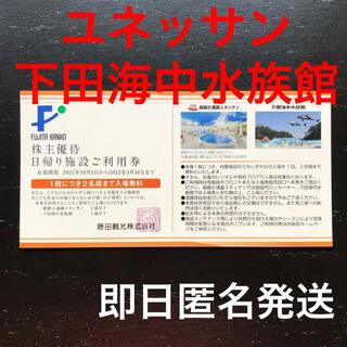 箱根小涌園ユネッサンパスポート入場券 クーポン 割引券 株主優待(遊園地/テーマパーク)