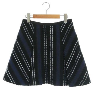 サカイラック(sacai luck)のサカイラック sacai luck 15SS スカート 1 黒 紺 白(ミニスカート)