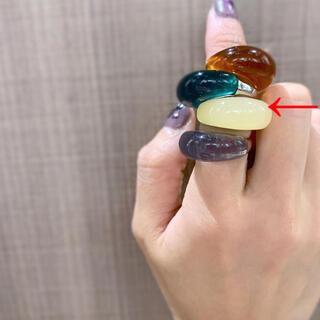 トゥデイフル(TODAYFUL)のlattice リング☺︎ちゅるんリング ゴールドリング(リング(指輪))