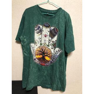 チャイハネ(チャイハネ)のTシャツ アミナ プリント(Tシャツ/カットソー(半袖/袖なし))
