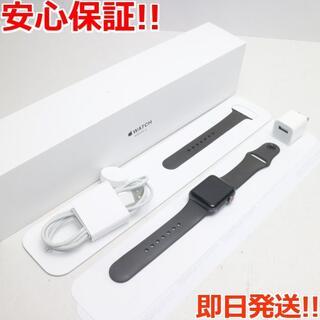 アップル(Apple)の超美品 AppleWatch series3 38mmGPS+Cellular(その他)
