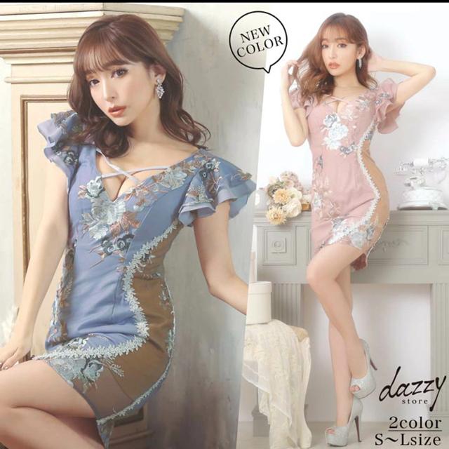dazzy store(デイジーストア)のデイジーストア ドレス シースルー  完売 レディースのフォーマル/ドレス(ミニドレス)の商品写真