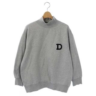 ダブルスタンダードクロージング(DOUBLE STANDARD CLOTHING)のダブルスタンダードクロージング ダブスタ D刺繍 トレーナー 36 グレー(トレーナー/スウェット)