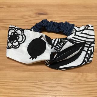 マリメッコ(marimekko)のハンドメイド  マリメッコ  ヘアターバン(ヘアアクセサリー)