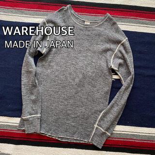 WAREHOUSE - WAREHOUSE ウエアハウス 長袖 カットソー 日本製