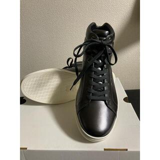 ドルチェアンドガッバーナ(DOLCE&GABBANA)の【新品】Dolce & Gabbana スニーカー 28cm スチールグレー 黒(スニーカー)