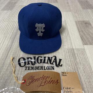 テンダーロイン(TENDERLOIN)の新作! TENDERLOIN トラッカーキャップ 帽子 ネイビー ブルー 紺 青(キャップ)