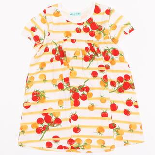 hakka kids - [ジュニアサイズ]プチトマトプリント半袖Tシャツ ハッカキッズ