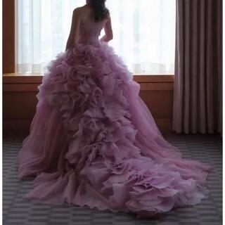 ヴェラウォン(Vera Wang)の期間限定ヴェラウォン ピンクヘイリー 2ndオーナー様募集(ウェディングドレス)