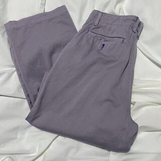 Jieda - デニムパンツ 紫 カラーパンツ パープル