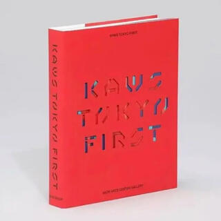 メディコムトイ(MEDICOM TOY)のKAWS TOKYO FIRST 図録 カウズ 現代アート ダミーブック(アート/エンタメ)