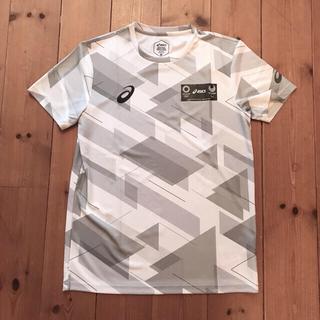 アシックス(asics)の東京オリンピックパラリンピック asics オフィシャル Tシャツ未販売品希少(ノベルティグッズ)