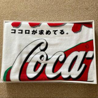 コカコーラ(コカ・コーラ)の今治コカコーラバスタオル・大判(タオル/バス用品)