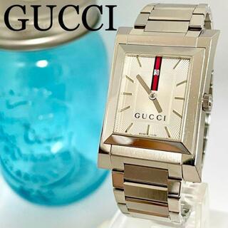 Gucci - 202 GUCCI グッチ時計 メンズ腕時計 スクエア シェリーライン 人気