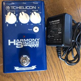 TC HELICON HARAMONY SINGER(エフェクター)