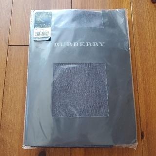 バーバリー(BURBERRY)のBURBERRY タイツ コットンヘリンボン ナイトネイビー(タイツ/ストッキング)