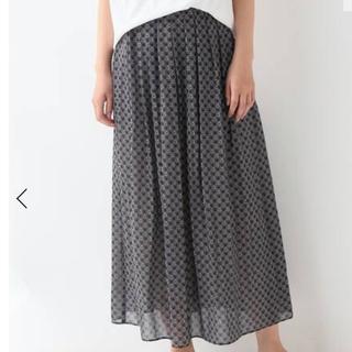 フレームワーク(FRAMeWORK)のフレームワーク  新品 スカート ネイビー(ロングスカート)