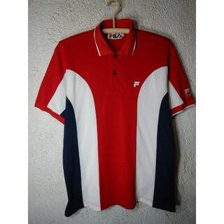 フィラ(FILA)のo3639 レア FILA フィラ 日本製 ビンテージ ポロシャツ(ポロシャツ)