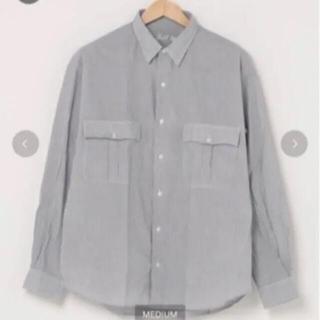 サンシー(SUNSEA)のporter classicロールアップシャツ(シャツ)
