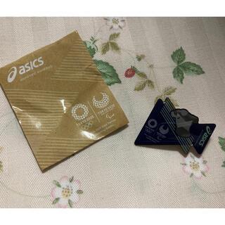 アシックス(asics)のアシックス オリンピック パラリンピック ピンバッチ ピン 新品未使用(ノベルティグッズ)