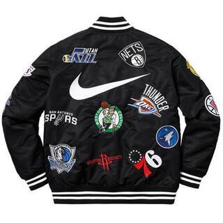 シュプリーム(Supreme)の即決!Supreme Nike NBA warm up jacket M(スタジャン)