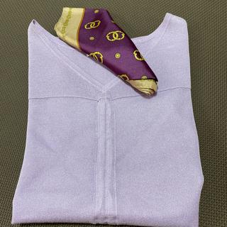 クミキョク(kumikyoku(組曲))のすなお様専用❗️美品!クミキョクカットソー&クリケットスカーフ(シャツ/ブラウス(半袖/袖なし))