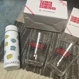 Lisa Larson - 【新品未使用】リサラーソン ミニボトル グラス
