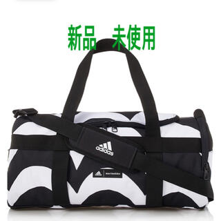 マリメッコ(marimekko)のアディダス マリメッコ ダッフルバッグ スポーツバッグ 新品(ボストンバッグ)