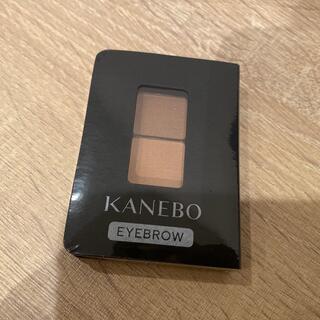 カネボウ(Kanebo)のKANEBO アイブロウデュオED1 Soft Shade Brown(パウダーアイブロウ)