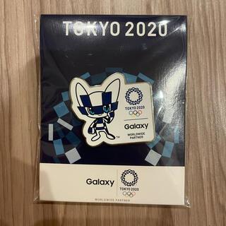 ギャラクシー(Galaxy)のTOKYO 2020 Galaxy ピンバッジ(バッジ/ピンバッジ)