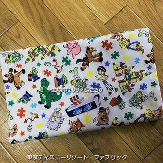 ディズニー(Disney)の東京ディズニーリゾート・カットクロス【ホワイト】100×50(生地/糸)