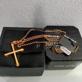 ポリス(POLICE)のポリス POLICE ネックレス 24048PSG01 クロス 十字架(ネックレス)