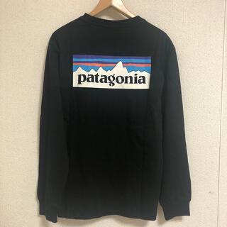 patagonia - パタゴニア P-6 ロゴ レスポンシビリティー  ロンT M ブラック