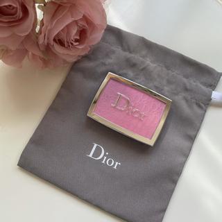 Dior - 【美品】ディオール バックステージ ロージーグロウ 001 ピンク チーク
