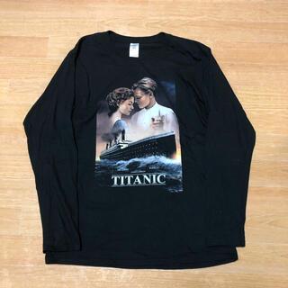 良品 映画 TITANIC タイタニック ロンT L(Tシャツ/カットソー(七分/長袖))