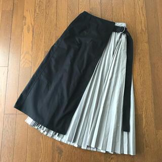 ルシェルブルー(LE CIEL BLEU)の【LE CIEL BLEU】レイヤードプリーツスカート(ロングスカート)
