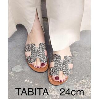 タビタ(TABITA)のTABITA サンダル 24cm    美品(サンダル)