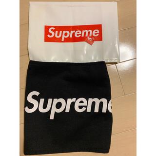 Supreme - 美品 Supreme 15AW Fleece Neck Gaiter