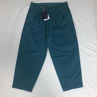 kolor - kolor 21ss パンツ グリーン