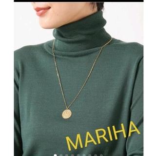 イエナ(IENA)のマリハ ☆ サン ライオン 60cm レクタングルチェーン 美品(ネックレス)