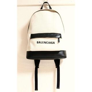 Balenciaga - 新品 BALENCIAGA バレンシアガ リュックサック ホワイト リュック