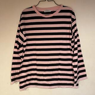 ウィゴー(WEGO)のボーダーシャツ ロンT Tシャツ(Tシャツ(長袖/七分))