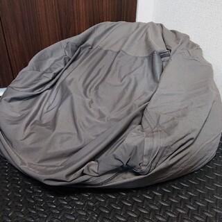 ムジルシリョウヒン(MUJI (無印良品))の無印良品 体にフィットするソファー・グレー(ビーズソファ/クッションソファ)