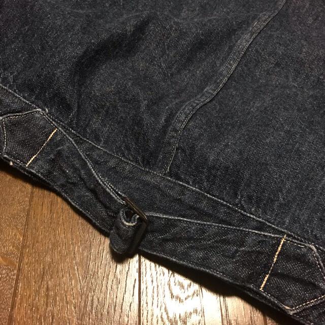 COMOLI(コモリ)の3 comoli 1st デニムジャケット インディゴ 大戦 コモリ  メンズのジャケット/アウター(Gジャン/デニムジャケット)の商品写真