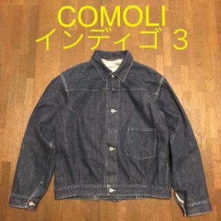 コモリ(COMOLI)の3 comoli 1st デニムジャケット インディゴ 大戦 コモリ (Gジャン/デニムジャケット)